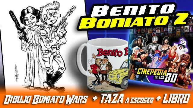 """DIBUJO ORIGINAL """"BONIATO WARS"""""""