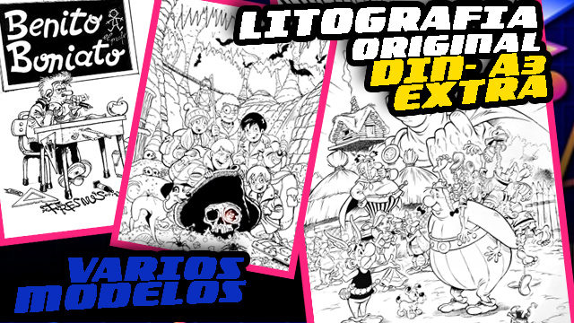 LITOGRAFIA LIMITADA EXCLUSIVA (EXTRA)