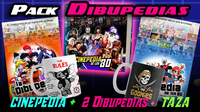 PACK 2 DIBUPEDIAS+CINEPEDIA