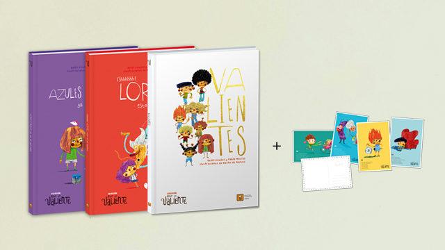 Los dos libros + VALIENTES  (3 libros)