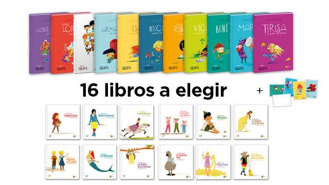 16 libros a elegir