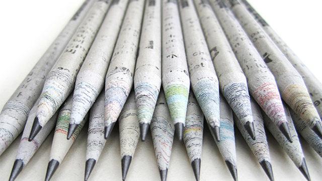 1 ejemplar + 1 lápiz reciclado