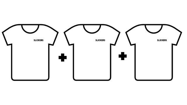 Pack 3 camisetas colección KM 0