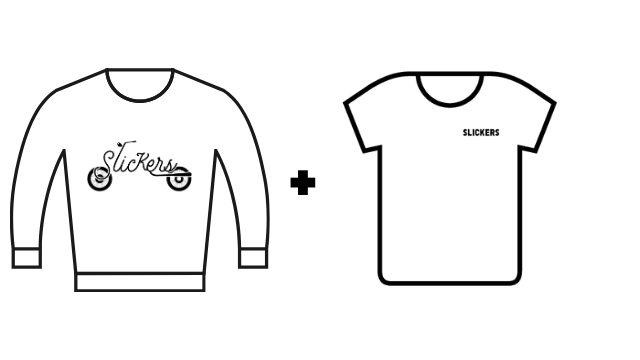 Pack 1 camiseta + 1 sudadera colección KM 0
