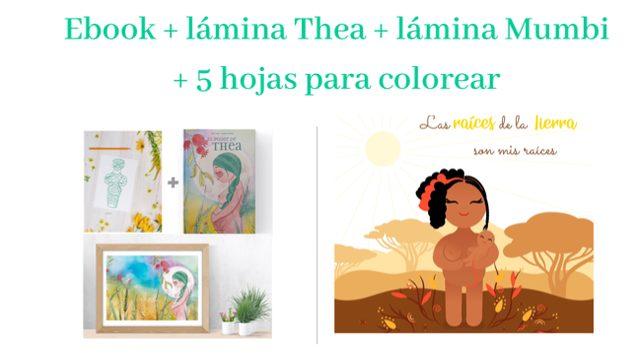Láminas Thea y Mumbi + ebook + extras