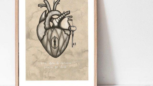 Libro firmado + Corazón A2 + Bolsa