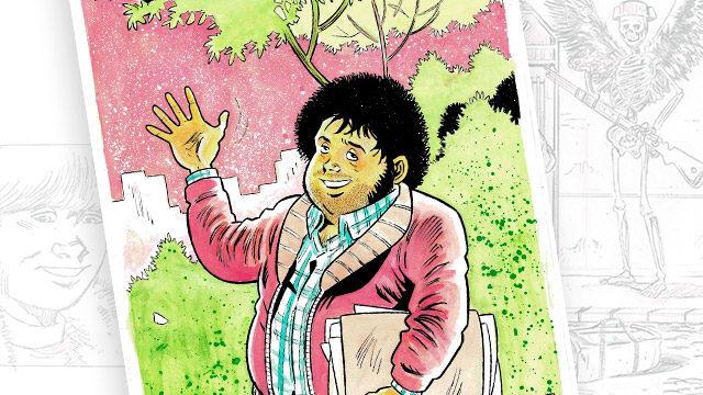 Acuarela nº2 en A4 de mano de Antonio Maldonado