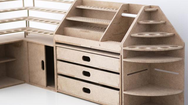 Pack esquina 03 - 4 muebles
