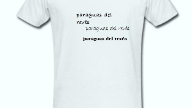 """Camiseta Portada """"Paraguas del revés"""""""