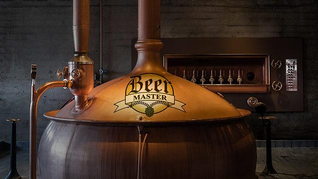 La micro brewery