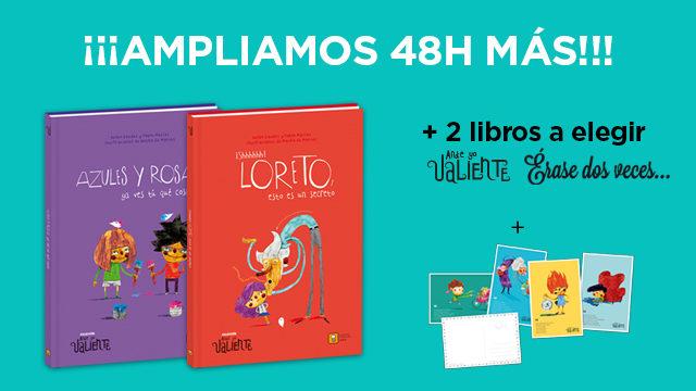 Ampliamos 48 horas más la recompensa de 4 librosx40€!!!