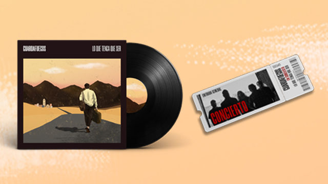 LP + Entrada presentación + descarga digital