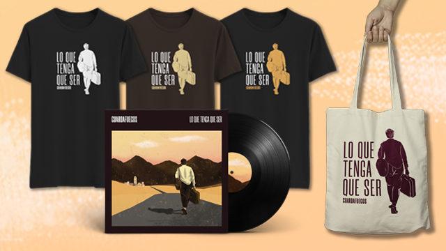 LP + camiseta + bolsa + descarga digital