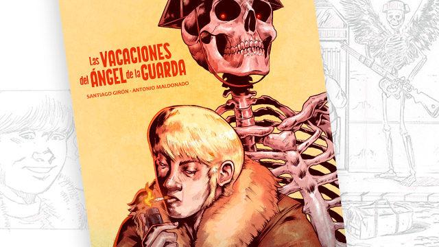 Print promocional de mano de Carlos Mercé