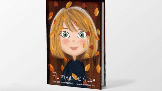 Un ejemplar de El viaje de Alba