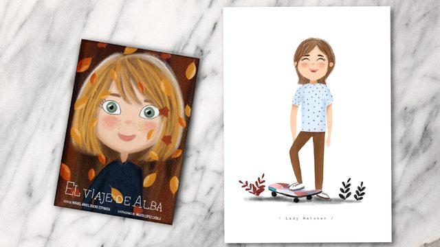 Libro + ilustración 1 persona