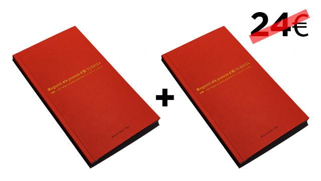 Dos llibres (un per a tu i un per regalar)