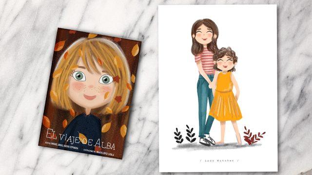 Libro + ilustración 2 persona