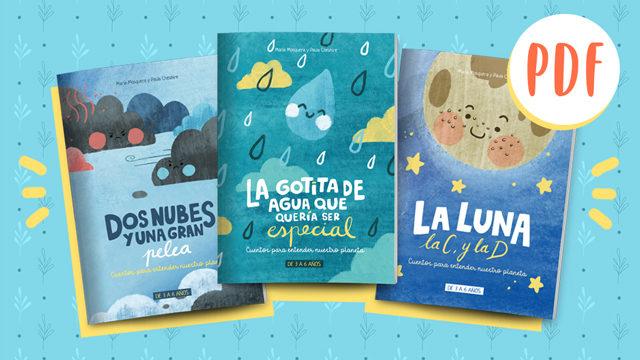 Pack de 3 cuentos en formato digital (PDF)