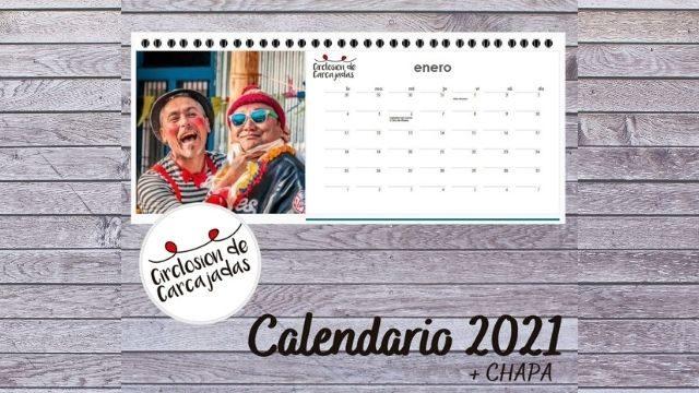 Calendario solidario + Chapa