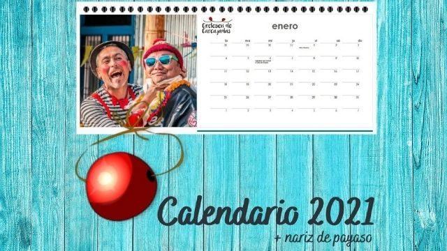 Calendario solidario + Nariz de payaso
