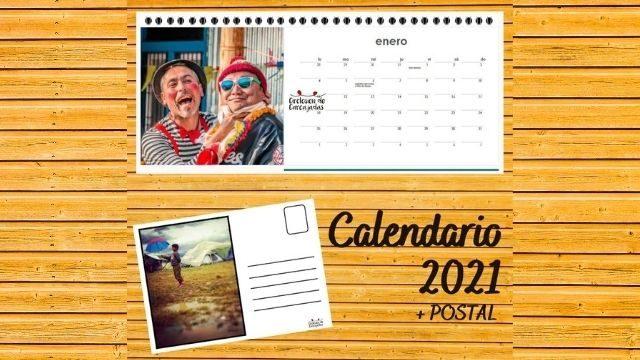 Calendario solidario + Postal