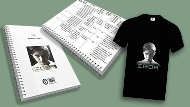 🖋️📑👕 Pack completo
