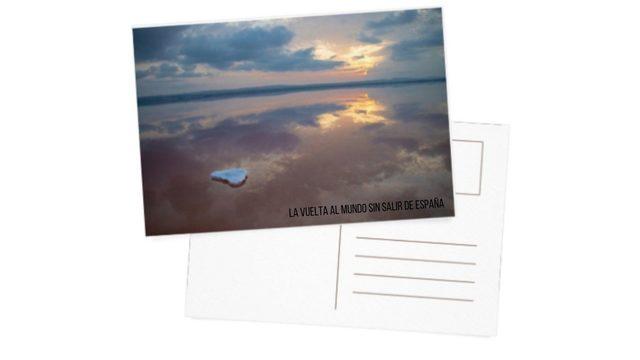 3 postales con imágenes inéditas