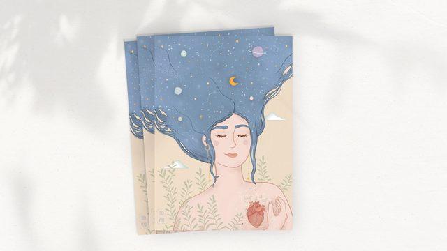 LIMITADA | Postal con ilustración de Diana Ventura