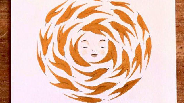 """Libro + Print de Irene Bofill """"Mujer Mandala2"""""""