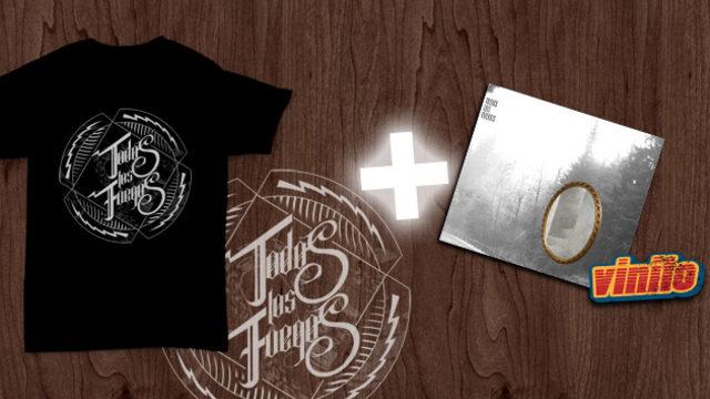 Pack logo vinilo (camiseta+vinilo+descarga)