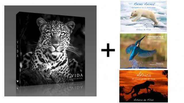 Libro VIDA + otro libro de Arturo de Frías a elegir