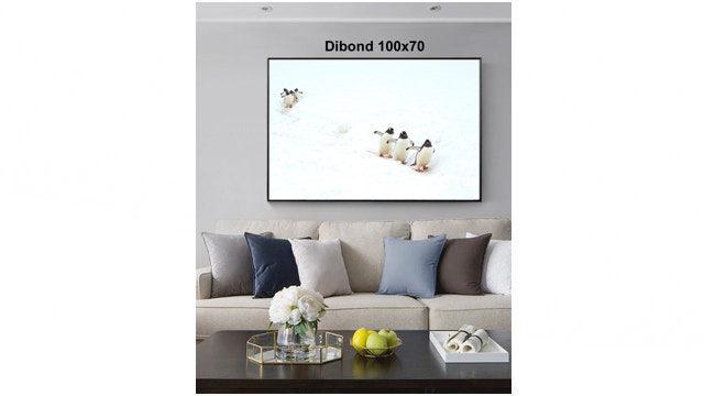 Cuadro en Dibond 100x70cm firmado y dedicado