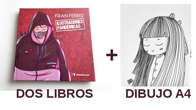 Dos libros y un dibujo