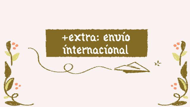 [+] Add-on: envío internacional