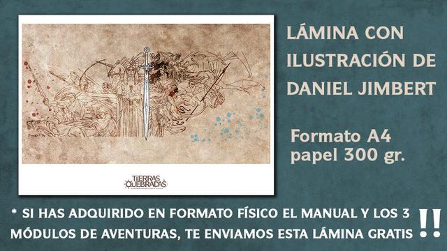 [ADD-ON] LÁMINA DE DANIEL JIMBERT