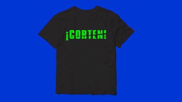 Camiseta de la película