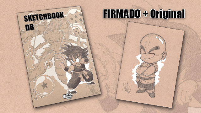 SketchBook DB Firmado + Original October Ink día 2