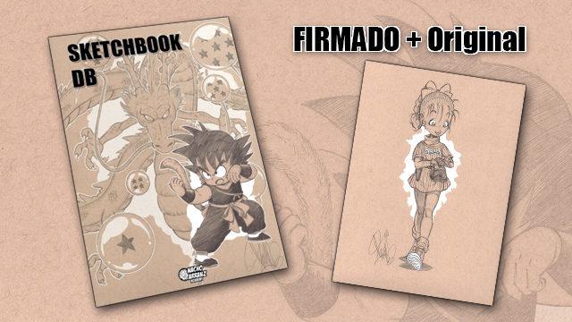SketchBook DB Firmado + Original October Ink día 3