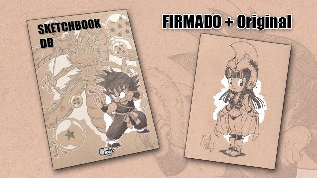 SketchBook DB Firmado + Original October Ink día 5