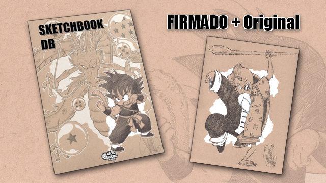SketchBook DB Firmado + Original October Ink día 7