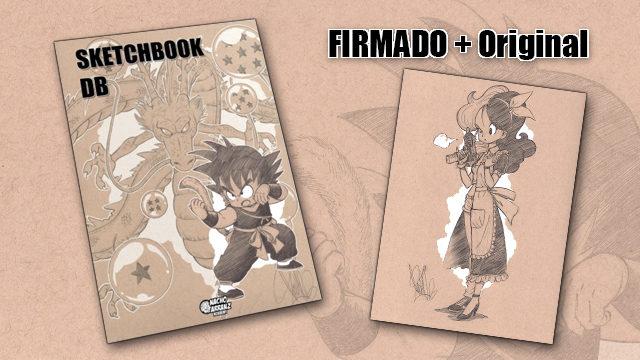SketchBook DB Firmado + Original October Ink día 8