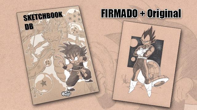 SketchBook DB Firmado + Original October Ink día 13
