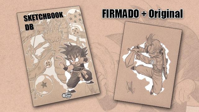 SketchBook DB Firmado + Original October Ink día 15