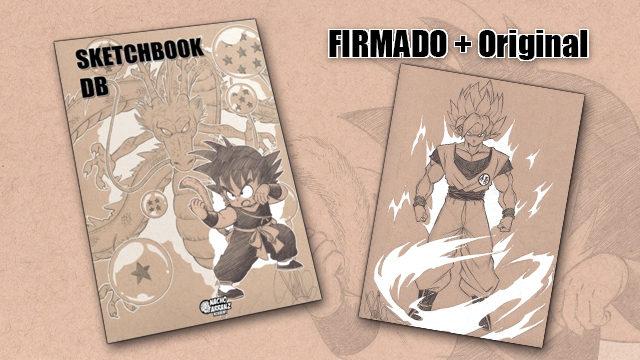 SketchBook DB Firmado + Original October Ink día 16
