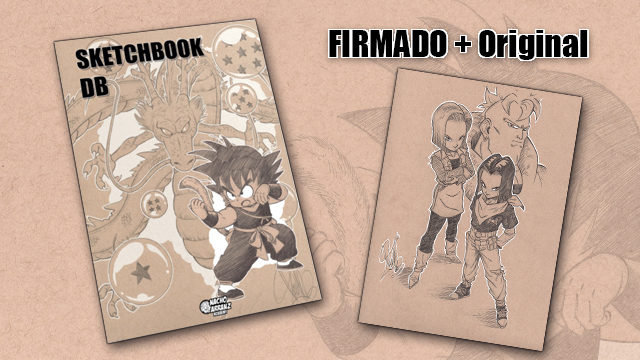 SketchBook DB Firmado + Original October Ink día 19