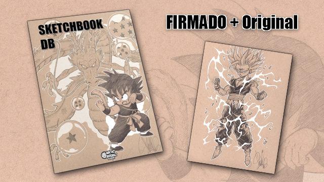 SketchBook DB Firmado + Original October Ink día 21