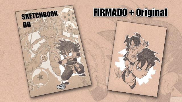 SketchBook DB Firmado + Original October Ink día 22