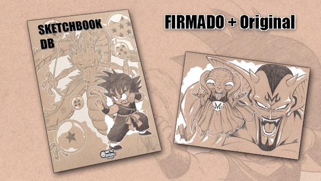 SketchBook DB Firmado + Original October Ink día 27