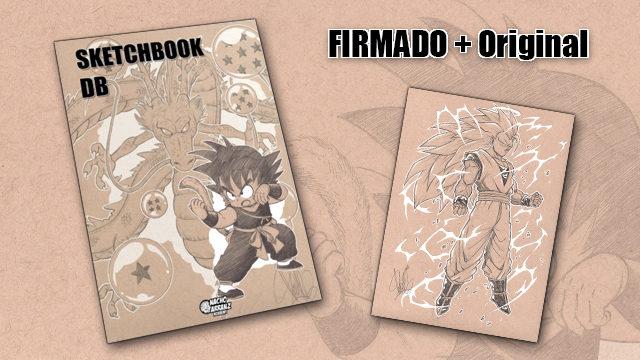 SketchBook DB Firmado + Original October Ink día 29